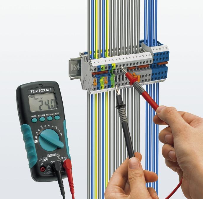 Контрольно измерительные приборы phoenix contact Информация  Измерительный инструмент